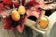 Makerist - Ohrringe und Ring aus einer Haselnuss - der Hingucker für den Herbst  - 1