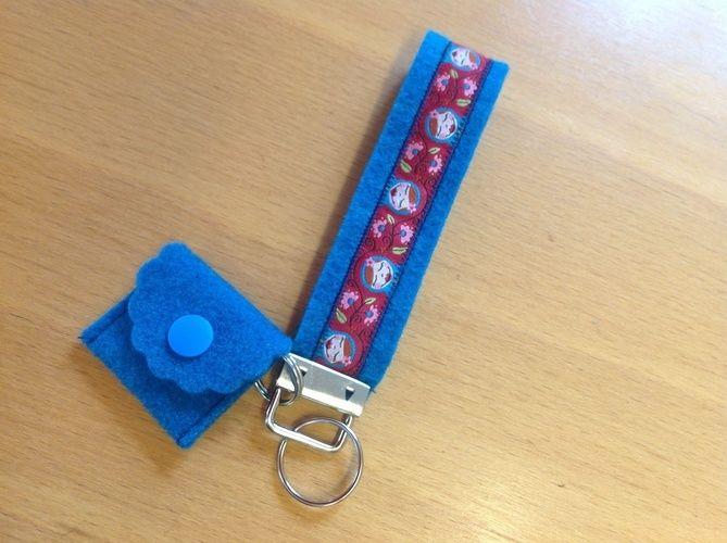 Makerist - Schlüsselband mit Chiptasche - Nähprojekte - 1