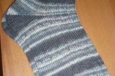 Makerist - Socken Gr. 42/43 - Opal Socken- und Pullover-Wolle  - Geburtstagsgeschenk für meinen Papi  - 1