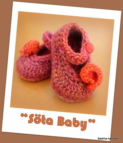 """Makerist - Babyschuhe """"Söta Baby""""  - Häkelprojekte - 1"""