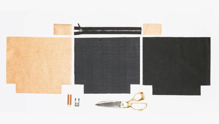 Makerist - Kosmetiktasche »The Black Line Copper & Cork« - Nähprojekte - 3