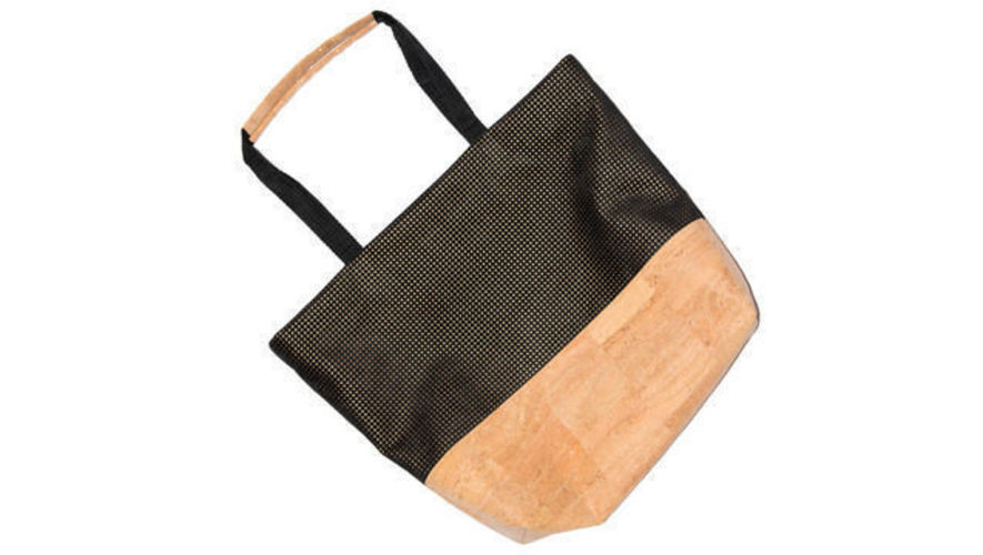 Makerist - Shopper »The Black Line Copper & Cork« - Nähprojekte - 2