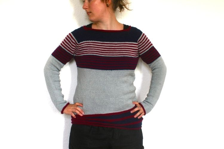 Makerist - (Not So) Low Contrast Pullover - Strickprojekte - 1