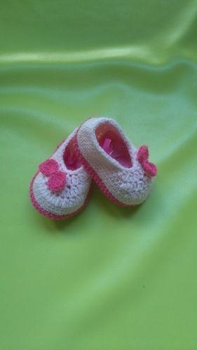 Makerist - Ballerines 0/3mois  - Créations de crochet - 1