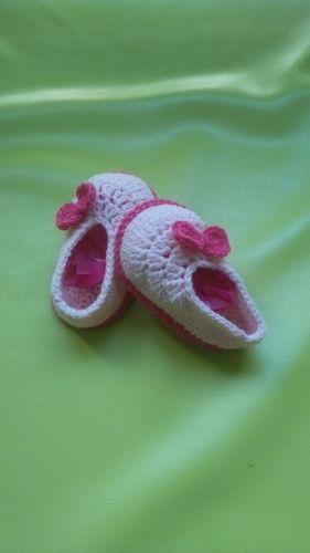 Makerist - Ballerines 0/3mois  - Créations de crochet - 2