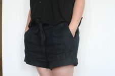 Makerist - Leinen Shorts - 1