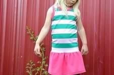 Makerist - Kleidchen frei nach dem Ottobre Unterhemd Freebie - 1
