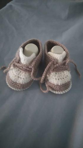 Makerist - Baskets 0/3mois au crochet  - Créations de crochet - 2