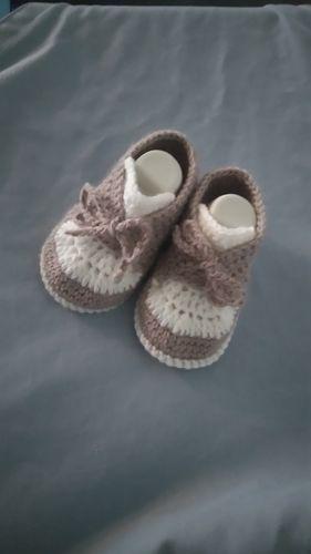 Makerist - Baskets 0/3mois au crochet  - Créations de crochet - 3