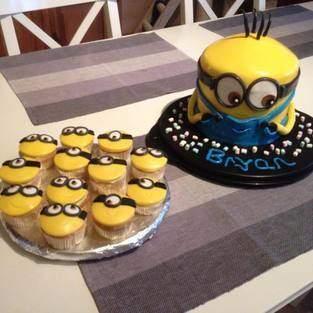 Makerist - Geburtstagstorte und Cupcakes - 1