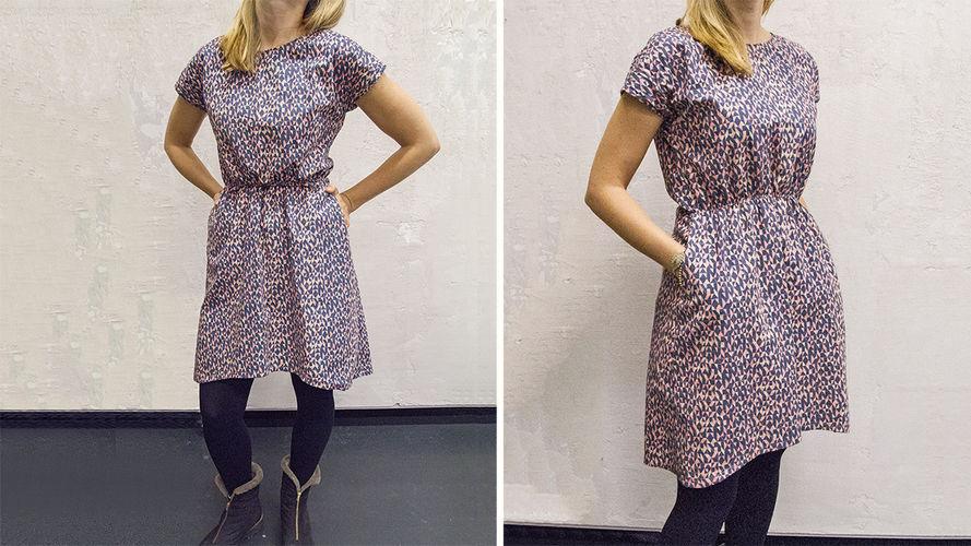 Makerist - Basic dress mit shirring - Nähprojekte - 1