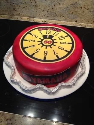TÜV-Torte, 60er eines Freundes