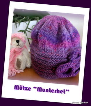 """Makerist - Mütze """"Munterhet"""" - 1"""