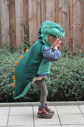 Makerist - T-Rex Kinderkostüm - Nähprojekte - 1