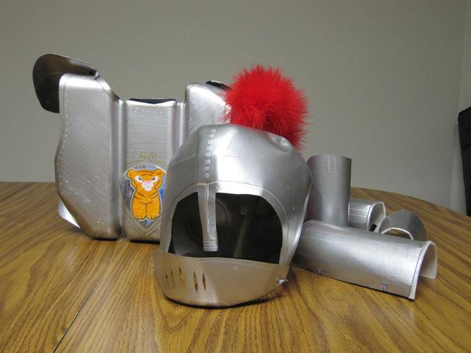 Makerist - Ritterrüstung aus Kunststoff-Verpackungen - DIY-Projekte - 1
