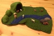 Makerist - Kleine Spiellandschaft zum Mitnehmen - 1