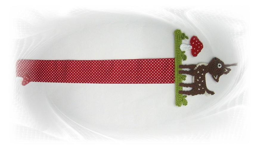 Makerist - Haarspangenhalter Reh mit Fliegenpilz - Häkelprojekte - 2