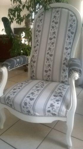 Makerist - fauteuil  voltaire - Autres créations - 1