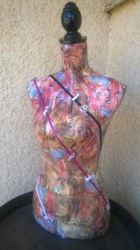 Makerist - buste en decopash - Autres créations - 1