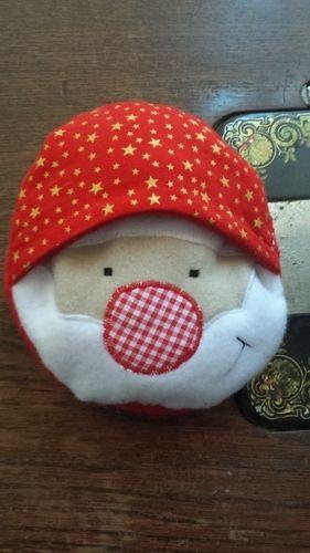 Makerist - Weihnachtsmann in der Kugel  - Nähprojekte - 1