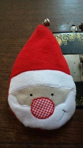 Makerist - Weihnachtsmann in der Kugel  - Nähprojekte - 2