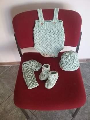 Makerist - Babysachen im Diamantmuster - 1