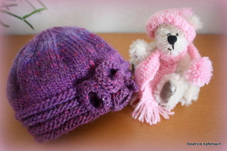 Makerist - Winterset für Mädchen - Strickprojekte - 2