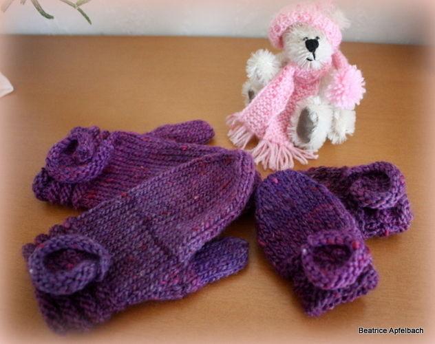 Makerist - Winterset für Mädchen - Strickprojekte - 3