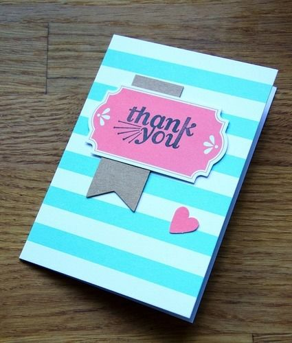 "Makerist - ""Thank you""-Karte - DIY-Projekte - 2"
