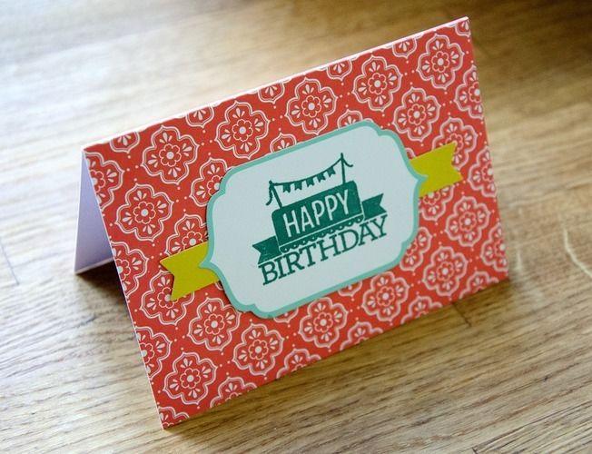 Makerist - Gebastelte Geburtstagskarte - DIY-Projekte - 1