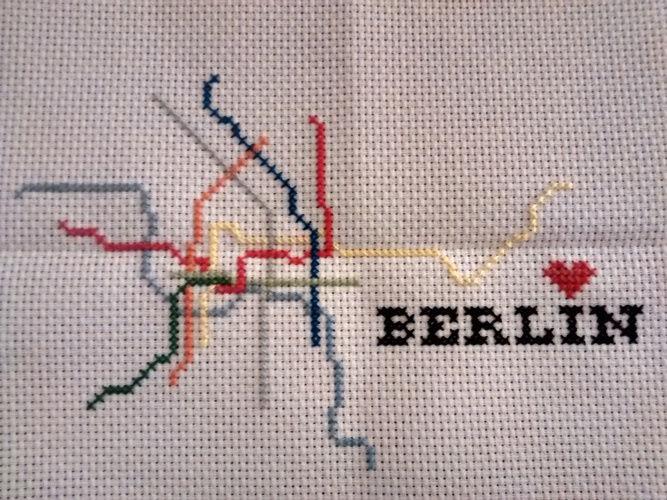 Makerist - Berlin U Bahn - DIY-Projekte - 1