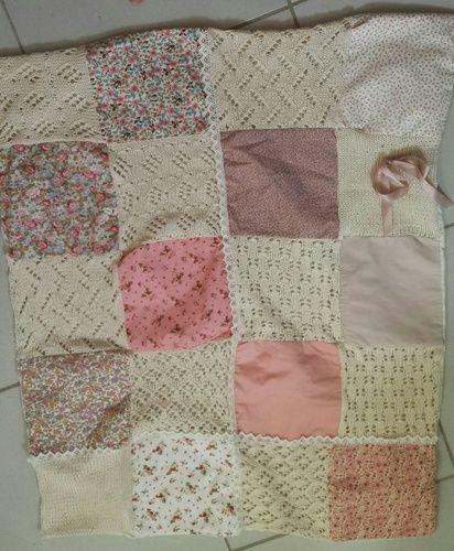 Makerist - couverture bébé - Créations de tricot - 1