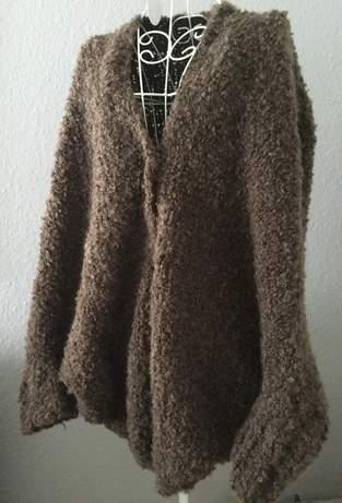 Makerist - Jacke mit Fledermausärmeln und Kuschelfaktor! - 1