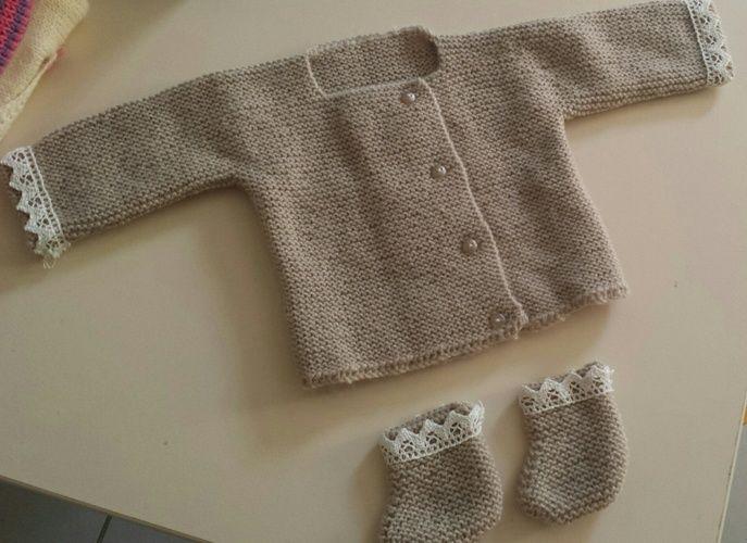 Makerist - gilet pour bébé - Créations de tricot - 1