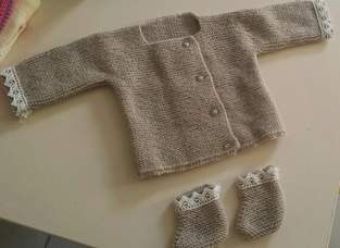Makerist - gilet pour bébé - 1