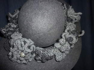 graues Hutband