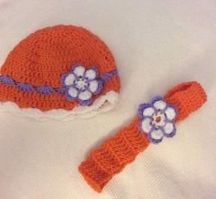 Makerist - Babymütze und Stirnband - 1