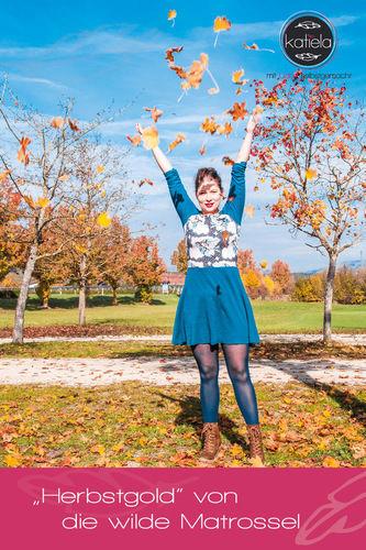 Makerist - Herbstgold - Die Liebeserklärung an die Weiblichkeit - Nähprojekte - 2