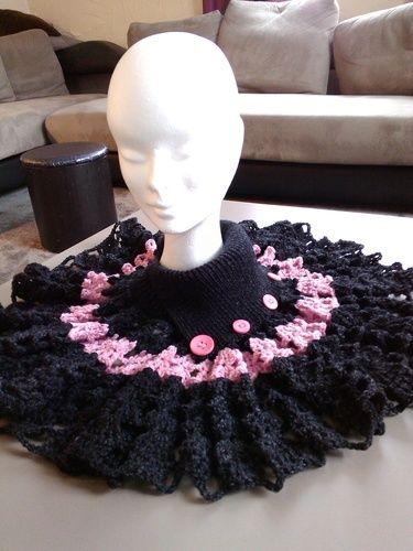 Makerist - couvre epaule avec col - Créations de crochet - 1