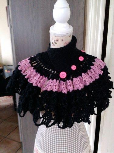 Makerist - couvre epaule avec col - Créations de crochet - 2