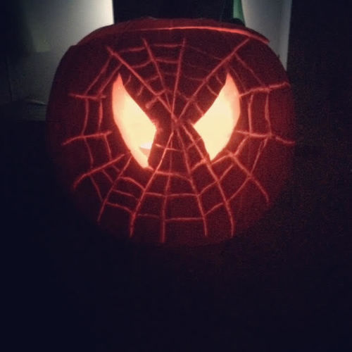 Makerist - Spiderman Halloween Pumpkin - DIY-Projekte - 1