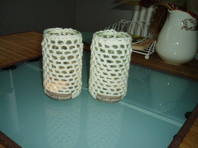 Makerist - gehäkelte Teelichter - Häkelprojekte - 1