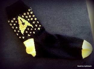 Makerist - Star Trek Socken - 1