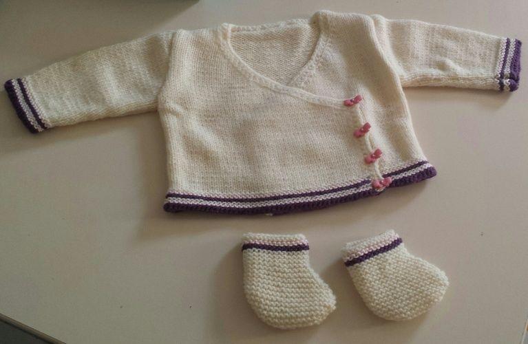 Makerist - brassière et chaussons  - Créations de tricot - 1