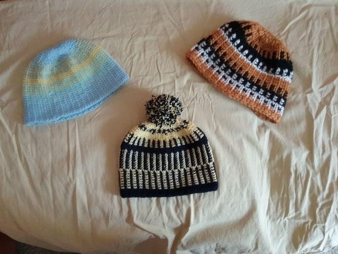 Makerist - wintermützen  - Häkelprojekte - 1