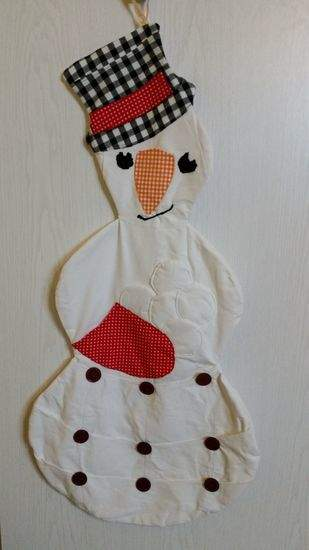 Makerist - Weihnachtskalender Schneemann - 1