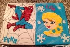 Makerist - Spiderman & Elsa - 1