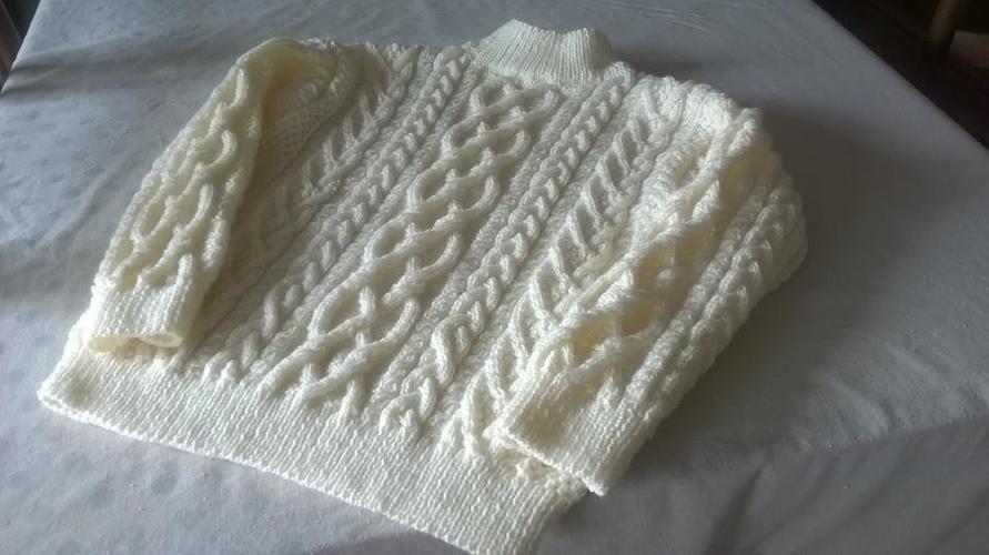 Makerist - Pull irlandais - Créations de tricot - 1
