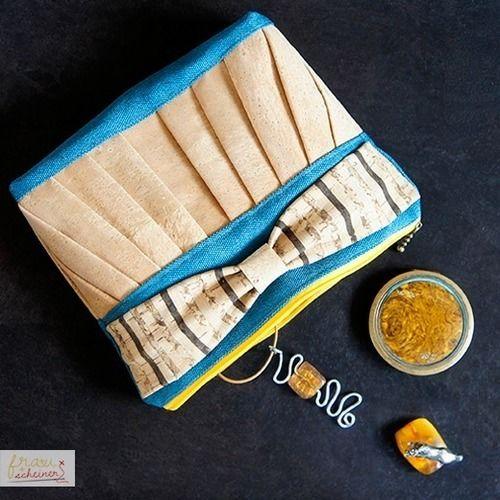 Makerist - Kosmetiktasche aus Kork - Nähprojekte - 1
