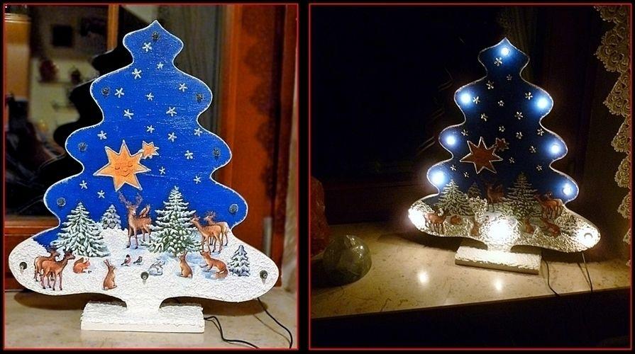 Makerist - Weihnachtliche Leuchtdeko 2 in 1 - DIY-Projekte - 1